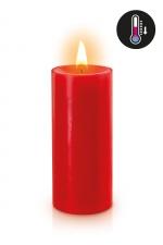 Bougie basse température rouge : Bougie noire spéciale pour vos scénarios BDSM. Elle fond à basse température pour éviter les brulures.