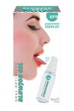 Gel oral optimizer blowjob - menthe poivrée : Gel spécial sexe oral 100% comestible gout menthe poivrée et sensation fraicheur pour plus de plaisir quand vous pratiquez une fellation.