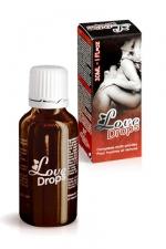 Love Drops - stimulant sexuel : Votre complément alimentaire énergisant sexuel pour hommes et femmes à base de plantes.