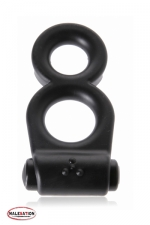 Vibro 8 Ring - Malesation : Avec le Vibro 8 ring vos attributs virils sont en position de force pour donner et recevoir du plaisir!