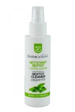 Nettoyant sextoys bio Cleaner : Spray pratique à base d'huile essentielles, bio, sans alcool, fabriqué en France.