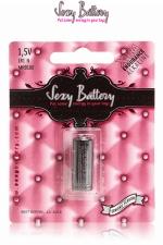 Pile sextoys Sexy Battery LR1 - 1.5V : 1 pile de type LR1 (1.5V) conditionnée dans un emballage sexy.