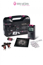 Malette électro-stimulation Tension Lover 7 fonctions - Mystim - Malette luxe Mystim, l'électro-stimulation de nouvelle génération.