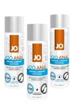 Lubrifiant Jo Anal - 60 ml : Lubrifiant spécial anal à base d'eau, pour la pratique de la sodomie avec un partenaire ou pour jouer avec un sextoy.