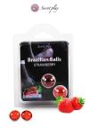 2 Brazilian Balls - fraise