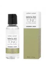 Lubrifiant silicone gingembre TONIC (50 ml) : Gel intime à base de silicone, parfumé au gingembre, effet aphrodisiaque, fabrication française.