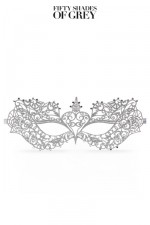 Masque d'Anastasia - Fifty Shades Darker : Le masque de bal d'Anastasia Steele, issu de la collection officielle Fifty Shades Darker.