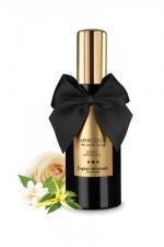 Huile de massage parfumée Aphrodisia : Huile de massage érotique, parfum aphrodisiaque exclusif, sans paraben ni huiles minérales.