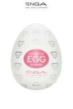 Masturbateur oeuf Egg Stepper : Edition Stepper avec formes triangulaires à double direction pour ce masturbateur simple et efficace.