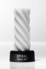 Tenga 3D Spiral : Oeuvre d'art et pur objet de plaisir, ce masturbateur en forme de spirale se love autour de la verge.