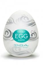 Oeuf Tenga Surfer : Saurez vous résister longtemps à la déferlante de plaisir du masturbateur Tenga Surfer?