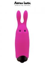 Double stimulateur Lastic Pocket Vibe : Mini stimulateur clitoridien, fun et flashy, moteur Bullet, silicone de première qualité.