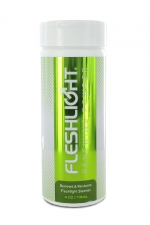 Poudre d'entretien Fleshlight (118 ml) : Poudre régénérante pour rénover et protéger votre masturbateur fétiche.