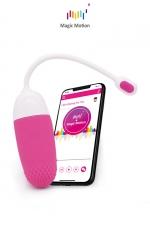 Oeuf vibrant connecté Magic Vini - Magic Motion : Le top des stimulateurs féminins connectés pour se faire plaisir en couple dans l'intimité ou dans des lieux publics.