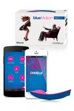 Sextoy connecté blueMotion : Stimulateur dirigé par Bluetooth ou Wifi avec une application dédiée, ABS hypoallergénique.