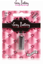 Pile sextoys Sexy Battery LR23 - 12V : 1 pile de type LR23 (12V) conditionnée dans un emballage sexy.