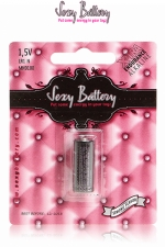 Pile sextoys Sexy Battery LR1 - 1.5V : 1 pile de type LR1 (1.5V) conditionnée dans un emballage sexy.