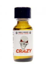Poppers Crazy Propyl 25ml : Crazy Propyl est un arôme aphrodisiaque au Nitrite de Propyle, offrant des sensations fortes et immédiates (flacon de 25 ml).