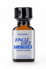 Poppers Jungle Juice Platinum 24 ml : Faites monter l'ambiance avec cet Arôme aphrodisiaque haute qualité à base de Nitrite d'Isopropyle.